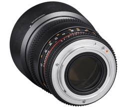 Samyang 85mm T1.5 VDSLR II Nikon Full Frame (400132)
