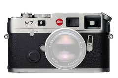 Leica M7 0.72 Film Camera - Chrome