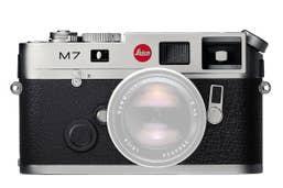 Leica M7 0.72 Film Camera - Chrome