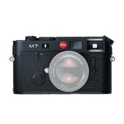 Leica M7 0.72 Film Camera - Black