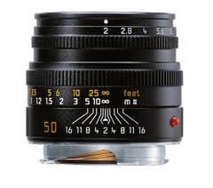 Leica Summicron-M 50mm F2 Lens  - 11826