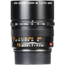 Leica APO-Summicron-M 75mm F2 ASPH Lens  -  11637