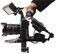 Glanz DSLR Shoulder Mount Movie Rig