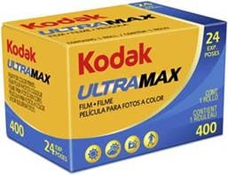 Kodak GC UltraMax 135/24 400 Color Negative Film (35mm Roll Film)
