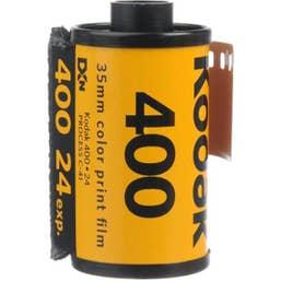 Kodak GC UltraMax 135/24 400 Color Negative Film (35mm Roll Film)