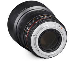 Samyang 85mm T1.5 VDSLR II Canon EOS Full Frame