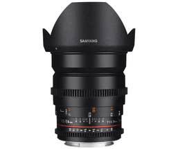 Samyang 24mm T1.5 VDSLR II Canon EOS Full Frame