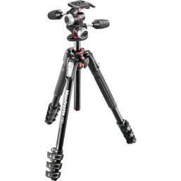 Manfrotto MK190XPRO4-3W Tripod - 3 Way Pan and Tilt Head