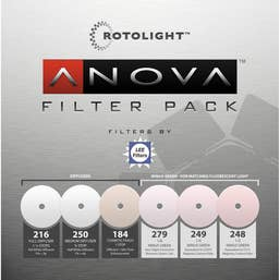 Rotolight Replacement Filter pack for ANOVA LED Lights (6-Pack)