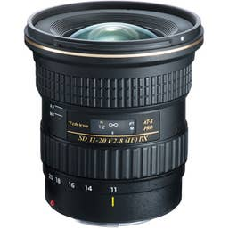 Tokina AT-X 11-20mm f/2.8 PRO DX Lens Canon Mount  - 1120PRODXEOS