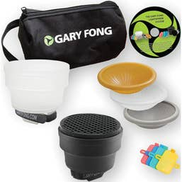 Gary Fong Lightsphere Collapsible Fashion & Commercial Lighting Kit  ( LSC-SM-FC )