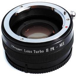 Mitakon Zhongyi Pentax K Lens to Sony E-Mount Camera Lens Turbo Adapter Mark II