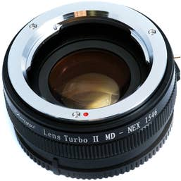 Mitakon Zhongyi Minolta MD Lens to Sony E-Mount Camera Lens Turbo Adapter Mark II