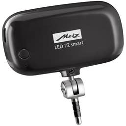 Metz Mecalight LED-72 Smartphone - Tablet LED Light -  Black