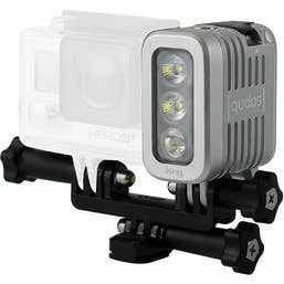 [qudos] Action Light by Knog - Silver  -  Suits GoPro Cameras  -  70-400 Lumens