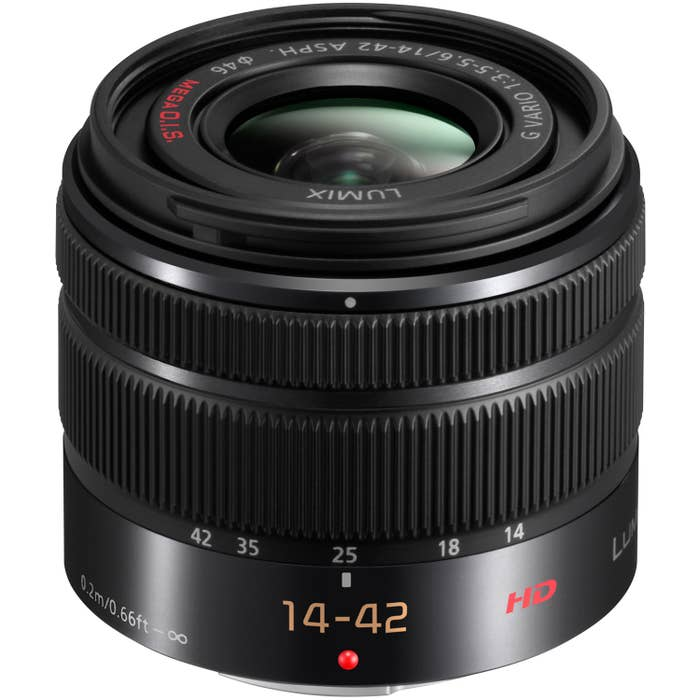 Panasonic 14-42mm F3.5 - 5.6 Matt Black