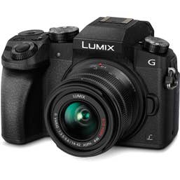 Panasonic G7 Twin Kit with 14-42 and 45-150mm - Black Body