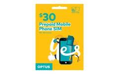 Optus $30 Voice Triple SIM Starter Kit