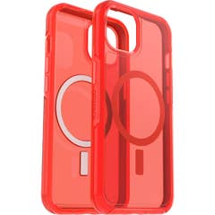 OtterBox Symmetry Series+ Clear Case for Apple iPhone 13, Ant Red- 77-85646