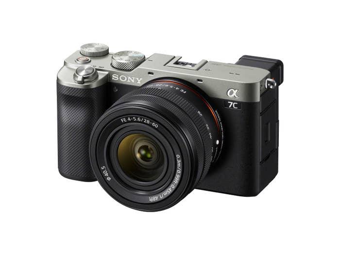 Sony A7C Kit w/28-60mm F4-5.6 - Silver