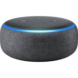 Amazon Echo Dot with Alexa (3rd Generation) [Charcoal Fabric]
