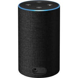 Amazon Echo with Alexa (2nd Generation) [Charcoal Fabric]