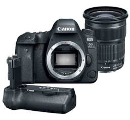 Canon EOS 6D Mark II w/ EF 24-105mm f/3.5-5.6 IS STM with Canon BGE21 Battery Grip