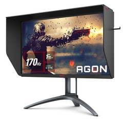 "AOC AGON AG273QXP 27"" 2K 170Hz QHD 1ms G-Sync Compatible Nano IPS Gaming Monitor"