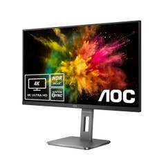"AOC U28P2U/BS 28"" 4K UHD ClearVision HDR Adaptive Sync IPS Business Pro Monitor"