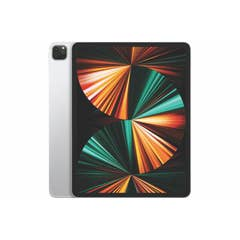 "Apple iPad Pro 12.9"" M1 Chip, Wi-Fi + Cellular 256GB Silver (5GEN) -MHR73X/A"