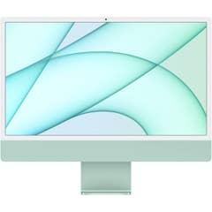 Apple iMac 24-inch M1 Chip, 8C CPU,8C GPU,8GB,256GB,Magic Keyboard, Green - MGPH3X/A