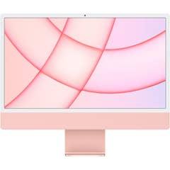 Apple iMac 24-inch M1 Chip, 8C CPU,8C GPU,8GB,256GB,Magic Keyboard, Pink - MGPM3X/A