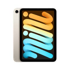 """Apple iPad Mini 8.3"""" Wi-Fi + Cellular 256GB Starlight (6th Gen) - MK8H3X/A"""
