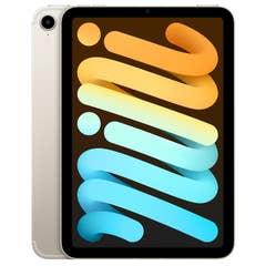 Apple iPad Mini 8.3 Wi-Fi + Cellular 64GB Starlight (6th Gen) - MK8C3XA