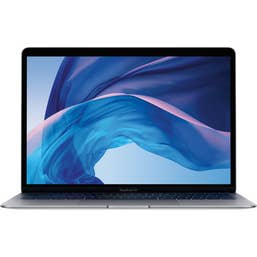 Apple MacBook Air 13.3-Inch with Force Touch Trackpad: 1.6GHZ Dual-Core 8th-Gen I5/8GB/256GB SSD/Intel UHD 617 - Space Grey