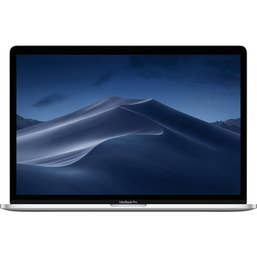 Apple Macbook Pro 15-Inch with Touch Bar: 2.6GHZ 6-Core I7/16GB/256GB/4GB Radeon Pro 555X - Silver