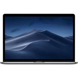 Apple Macbook Pro 15-Inch with Touch Bar: 2.6GHZ 6-Core I7/16GB/256GB/4GB Radeon Pro 555X - Space Grey