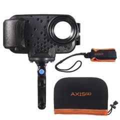 Aquatech AxisGO 12 Pro Deep Black Over Under Kit