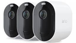 Arlo Pro 3 Wire-Free 2K Security Camera System - 3 Cameras & Smart Hub