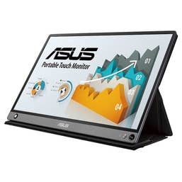 ASUS ZenScreen Touch MB16AMT 15.6 FHD IPS Portable USB Type-C Monitor