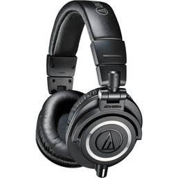 Audio Technica ATH-M50x Monitor Over-Ear Headphones (Black)