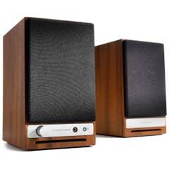 Audioengine HD3 Powered Desktop Speakers - Walnut