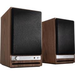 Audioengine HD4 Wireless Desktop Speakers - Walnut