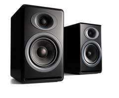 Audioengine P4 Passive Bookshelf Speakers - Satin Black