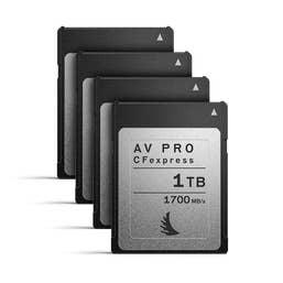 Angelbird AV PRO CFexpress 1 TB | 4 PACK