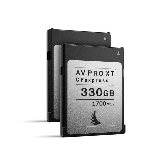 Angelbird AV PRO CFexpress XT 330 GB | 2 PACK