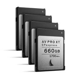 Angelbird AV PRO CFexpress XT 660 GB | 4 PACK