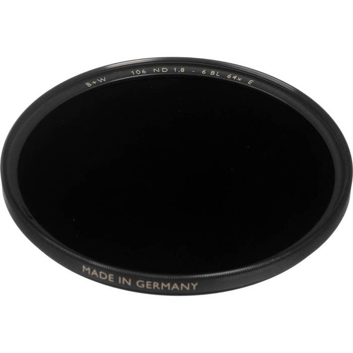 B+W 46mm SC 106 Solid Neutral Density 1.8 Filter (6 Stop)
