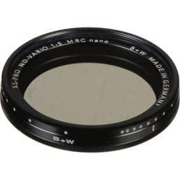 B+W XS-Pro 52mm ND Vario Filter