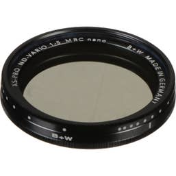 B + W XS-Pro 58mm ND Vario Filter